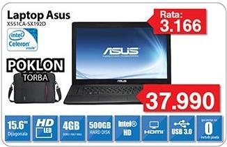 Laptop X551ca-Sx192d + Poklon Torba