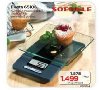 Kuhinjska Vaga Fiesta 65106