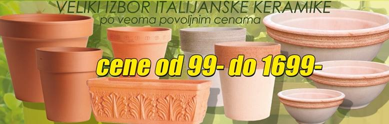 Veliki izbor italijanske keramike