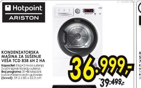 Hotpoint Mašina Za Sušenje Veša Tcd 83B 6H Z Ha