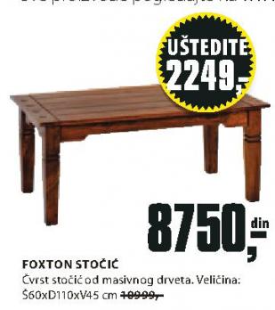 Stočić Foxton