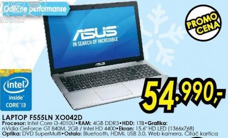Laptop F555ln Xo042d