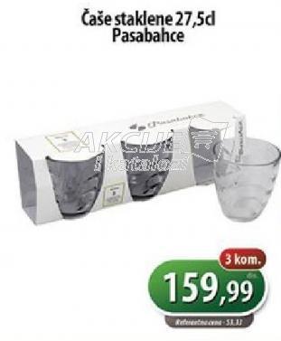 Čaše staklene 27,5cl
