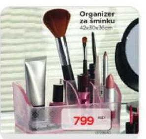 Organizer za šminku