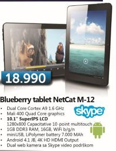 Tablet Netcat M-12