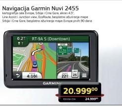 Navigacija Garmin Nuvi 2455