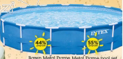Bazen Metal Frame 366x76cm