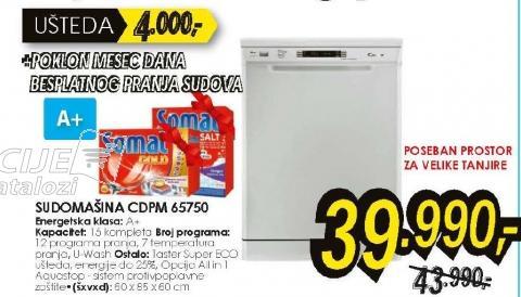 Sudomašina CDPM 65750