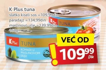 Tunjevina komadi u paradajz sosu