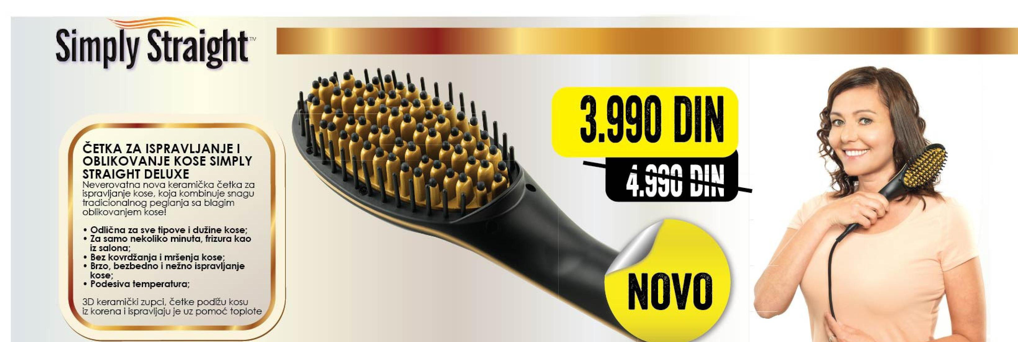 Četka za ispravljanje kose