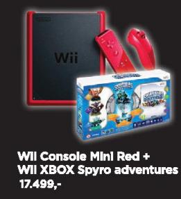 WII Console mini Red