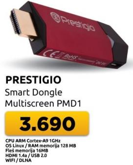 Wireless USB Adapter MultiScreen PMD1
