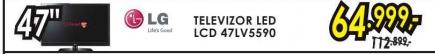 Televizor LED LCD 47LV5590