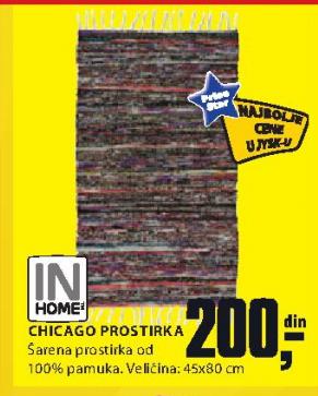 Prostirka Chicago