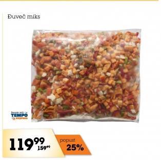 Smrznuto povrće za đuveč