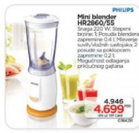 Mini blender HR2860/55