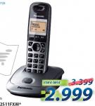Fiksni bežični telefon KX-TG2511FXM