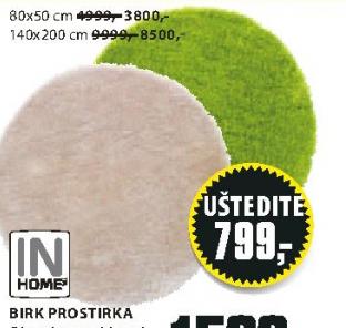 Prostirka Birk 80x50cm