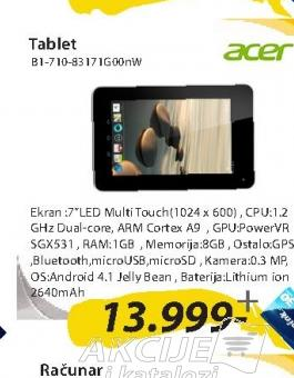 TABLET B1-710-83171G00nW