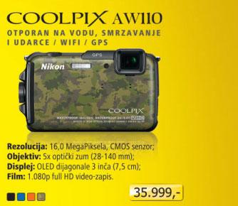 Digitalni fotoaparat   Coolpix AW 110