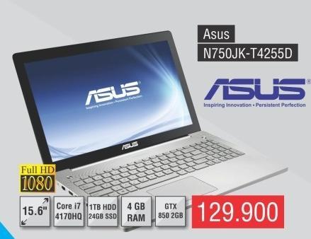 Laptop N750jk-T4255d