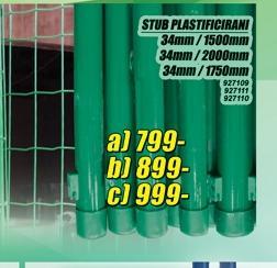 Stub plastificirani