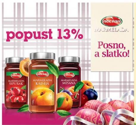 13% popusta na Nectar marmelade