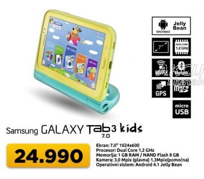 Tablet Galaxy Tab3 7.0 Kids