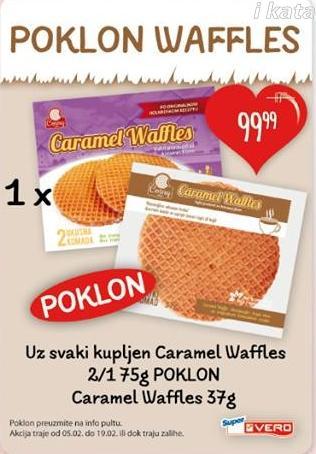 Waffle  caramel
