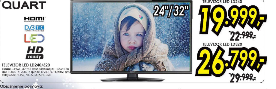 Televizor LED LCD LD240