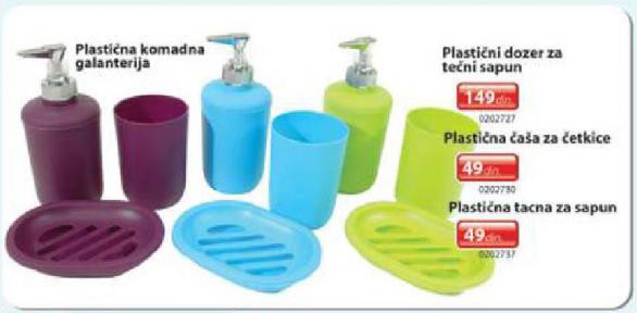 Plastična tacna za sapun