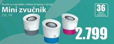Mini zvučnik Z50