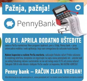 PennyBank - Račun zlata vredan