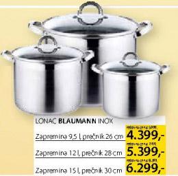 Lonac Blaumann Inox 30cm