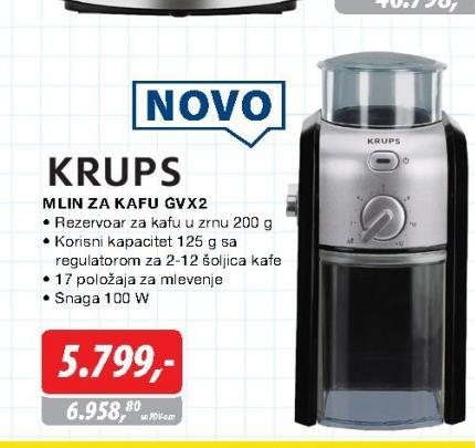 Mlin za kafu GVX 2