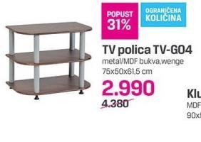 TV polica TV-GO4