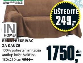 Prekrivač za kauče