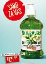 Anticelulit gel NaturAvera