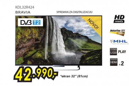 Televizor LED KDL-32R424
