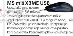 Miš X3ME USB