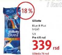 Brijač Blue II plus