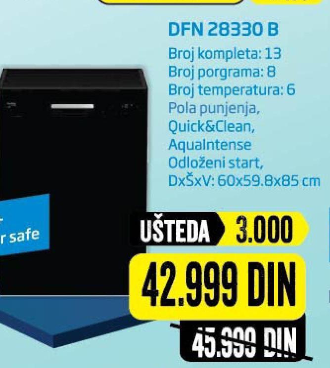 Sudomašina DFN 28330 B