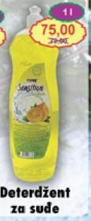 Deterdžent za sudove limun