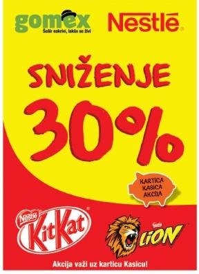 Nestle - KitKat, Lion