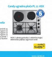 Ugradna ploča PL 22 ASX