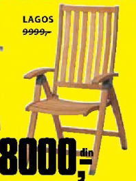 Baštenska stolica Lagos - Jutlandia