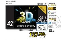 3D SMART TV KDL42W805 + 3D NAOČARE