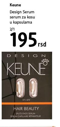 Serum za kosu Design