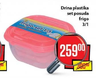 Posuda plastična