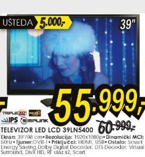 Televizor 3D 39LN5400